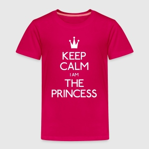 keep calm princess Shirts - Kids' Premium T-Shirt