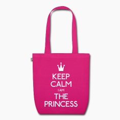 keep calm princess Bags & Backpacks