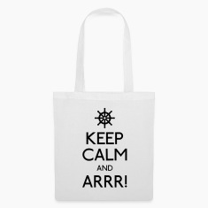 keep calm pirate Bags & Backpacks
