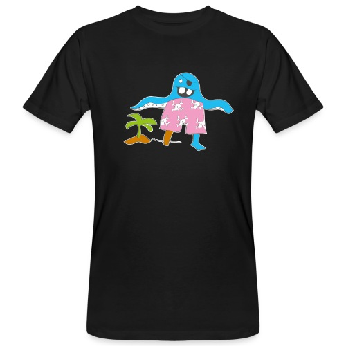 Piratenmonster - Männer Bio-T-Shirt