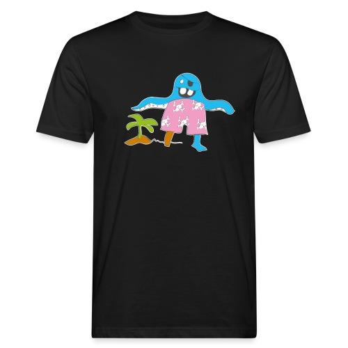 Piratenmonster - Männer Bio-T-Shirt
