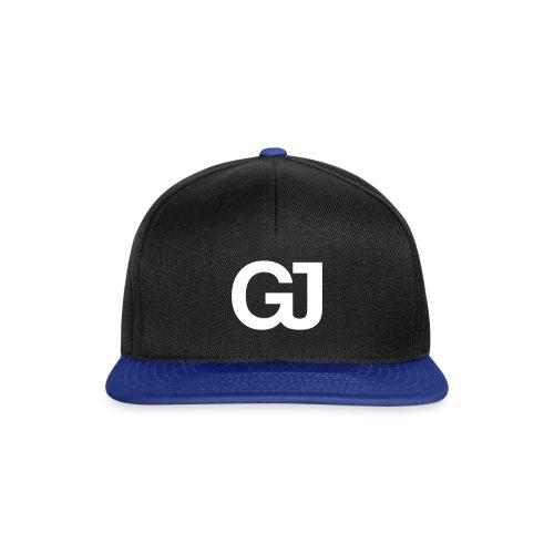 GJ Snapback Black/Blue - Snapback Cap
