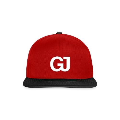 GJ Snapback Red/black - Snapback Cap