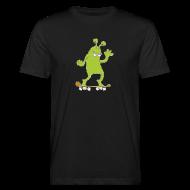 T-Shirts ~ Männer Bio-T-Shirt ~ Skatemonster