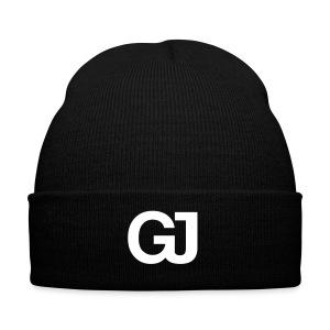 GJ Knit Beanie Black - Winter Hat