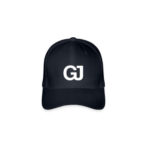 GJ Baseball Cap Red - Flexfit Baseball Cap