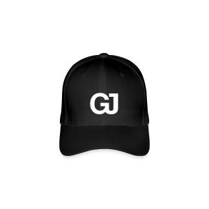 GJ Baseball Cap Black - Flexfit Baseball Cap