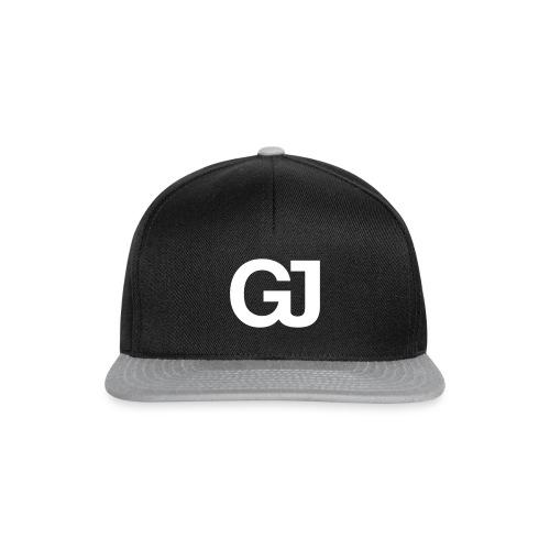 GJ Snapback Black/Grey - Snapback Cap