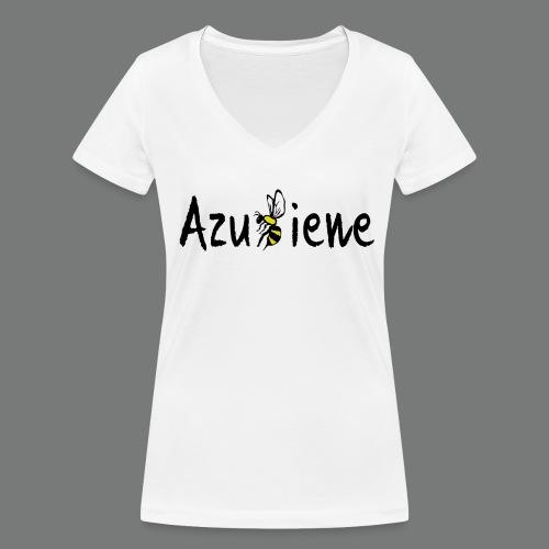 Azubiene - Frauen Bio-T-Shirt mit V-Ausschnitt von Stanley & Stella