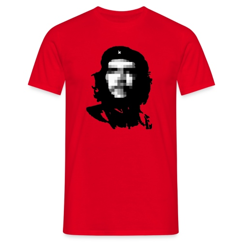 Che 'pixelated' Guevara - Men's T-Shirt