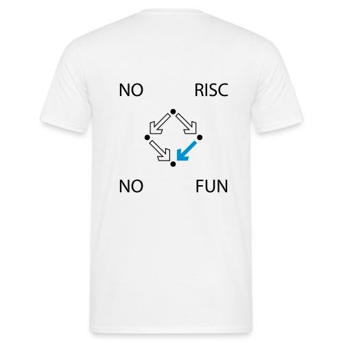 No RISC, no fun #1 - Männer T-Shirt