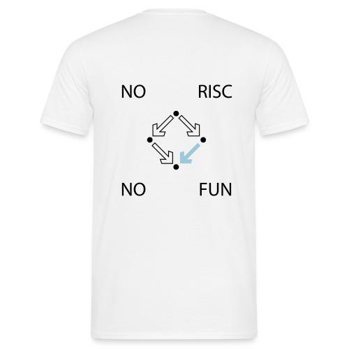 No RISC, no fun #2 - Männer T-Shirt