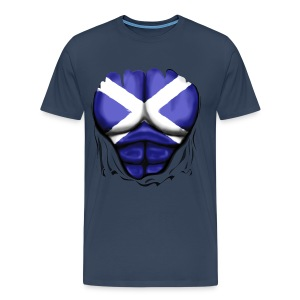 Scottish Chest - Men's Premium T-Shirt