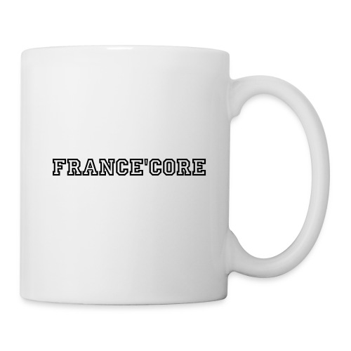 Mug France'core Official - Mug blanc
