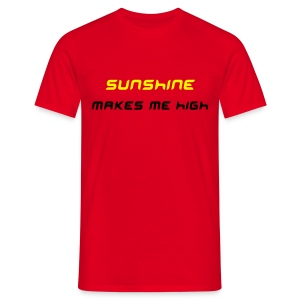 sunshine/red2 - Männer T-Shirt