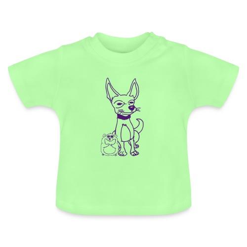 Maglietta per neonato - hamster,dog,criceto,chihuahua,cane