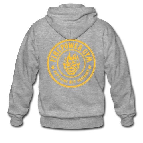 Firepower Men's Hoodie - Men's Premium Hooded Jacket