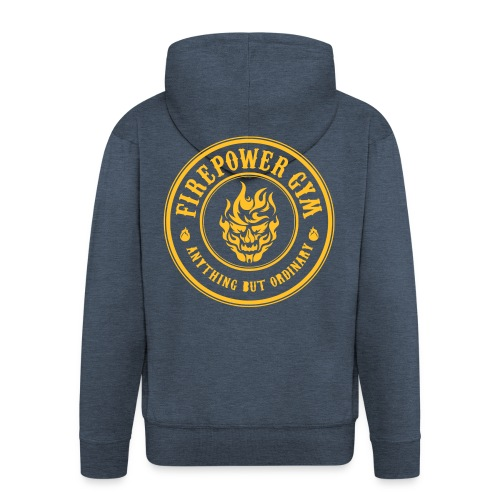 Firepower Men's Hoodie - Men's Premium Hooded Jacket