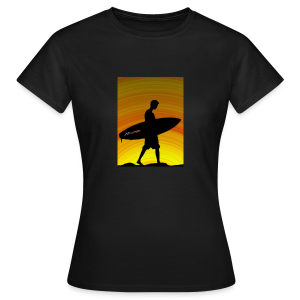 Sunset Lady's - Frauen T-Shirt