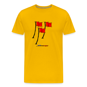 Red-Flag - Männer Premium T-Shirt