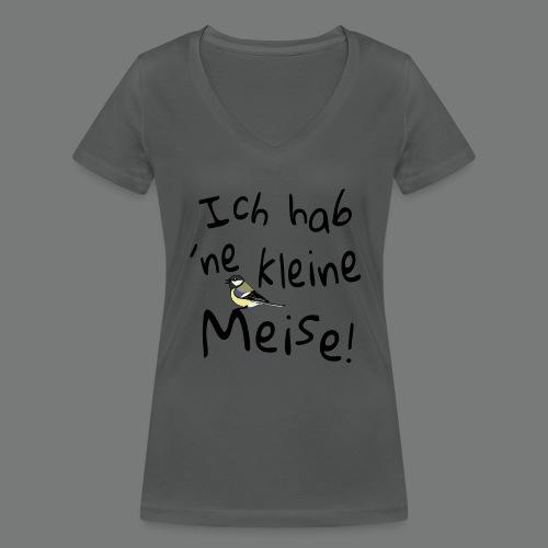 Ich hab `ne kleine Meise! - Frauen Bio-T-Shirt mit V-Ausschnitt von Stanley & Stella