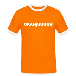 Oranjuuuuh T-shirts - Mannen contrastshirt