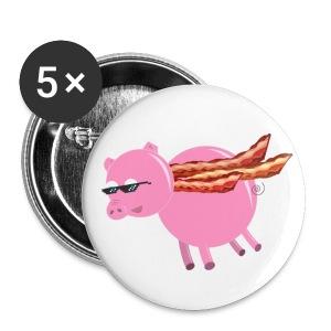 BaconCape Pig Button - Buttons medium 32 mm