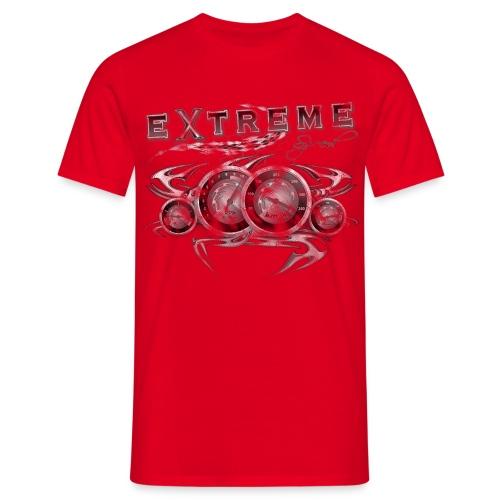Extreme  T-shirt  verwaschener Style - Männer T-Shirt