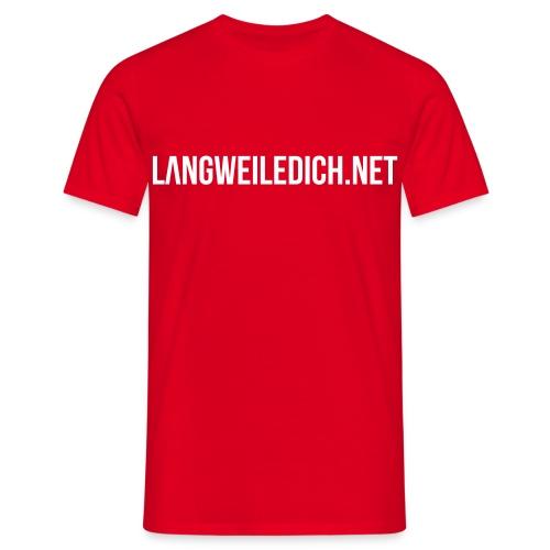 LwDn Shirt red - Männer T-Shirt