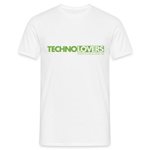 Logo Technolovers - Männer T-Shirt