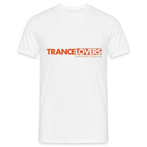 Logo Trancelovers - Männer T-Shirt