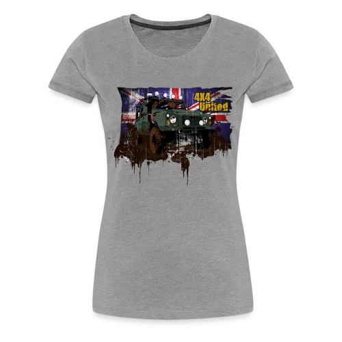 4x4 United 110er S-3XL - Frauen Premium T-Shirt