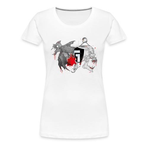 Underground Creatures T-Shirt Female - Women's Premium T-Shirt