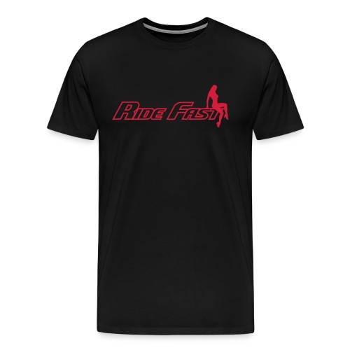 Ride Fast Design - Men's Premium T-Shirt