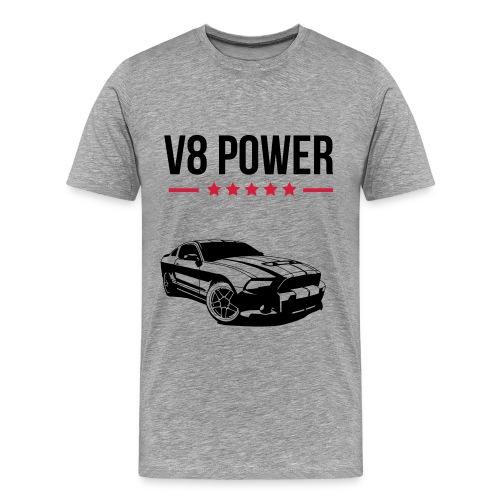 V8 Power - Men's Premium T-Shirt