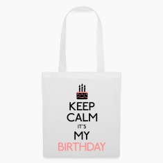 keep calm birthday Bags & Backpacks