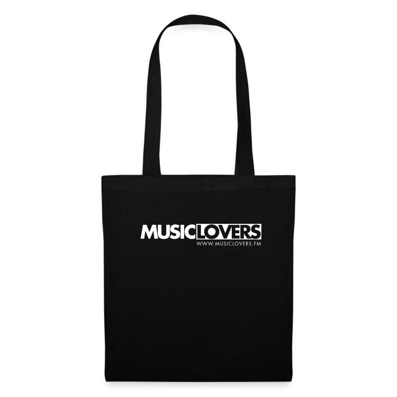 Logo-Musiclovers-weiß3 - Stoffbeutel