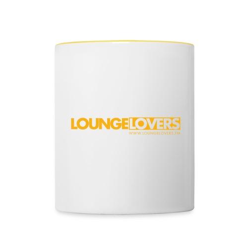 Logo Loungelovers - Tasse zweifarbig