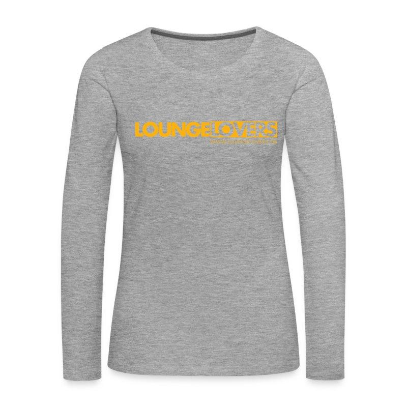 Logo Loungelovers - Frauen Premium Langarmshirt