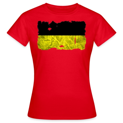 Baden-Württemberg Flagge Shirt vintage used look - Frauen T-Shirt