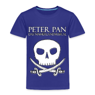 T-Shirts ~ Kinder Premium T-Shirt ~ Peter Pan - Das Nimmerlandmusical - Piratenlogo