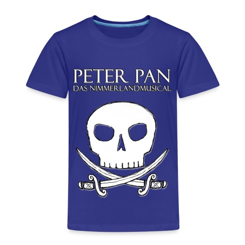 Peter Pan - Das Nimmerlandmusical - Piratenlogo - Kinder Premium T-Shirt