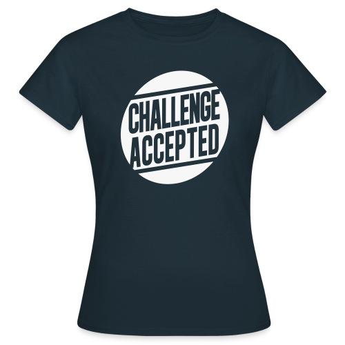 Rock4Magic - Frauen Standard T-Shirt zum Teil reflektierender oder selbstleuchtende (Dunkelheit) Schriftzuege - Frauen T-Shirt
