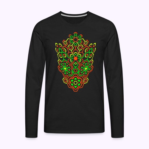 LectroMaze Bulged - Men's Long Sleeve - Men's Premium Longsleeve Shirt