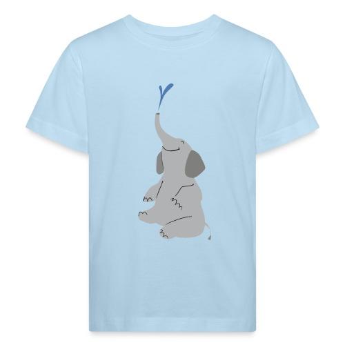 T-Shirt Elefant - Kinder Bio-T-Shirt