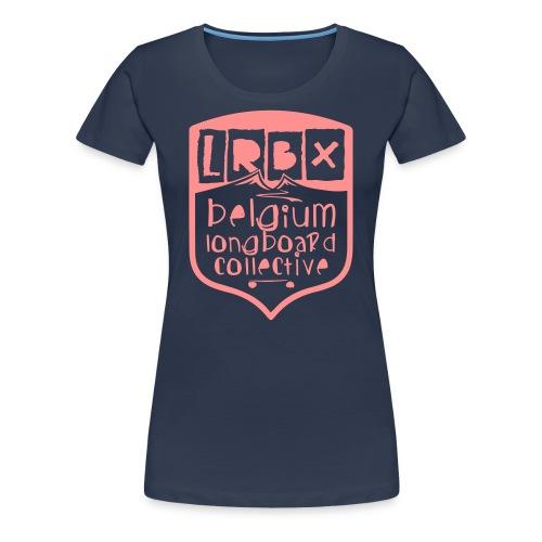 WOMEN LRBX Tee Pink Logo by Mata7ik - T-shirt Premium Femme