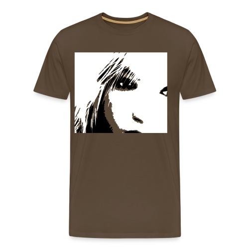 Nase - Männer Premium T-Shirt