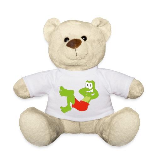 Teddybär mit Frosch - Teddy