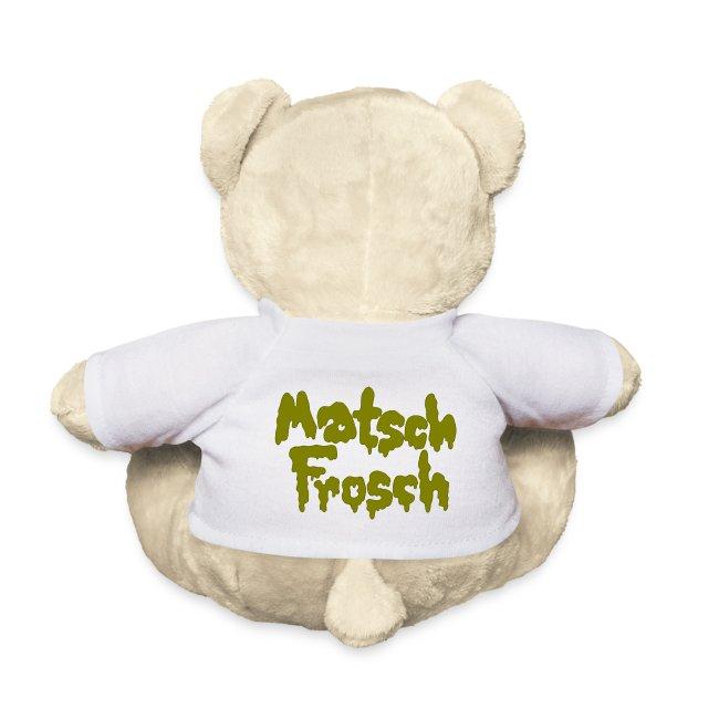 Teddybär mit Frosch