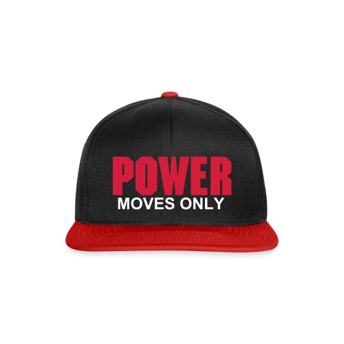 Power Moves Only Snapback - Snapback Cap